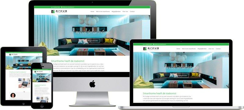 Professionele website Arcus