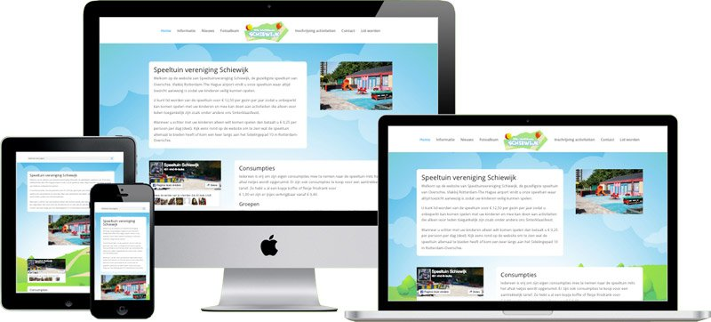 WordPress website Schiewijk