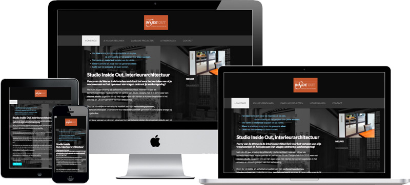 wordpress website studio inside out
